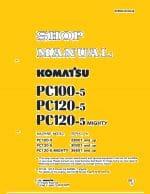 Komatsu PC100-5/PC120-5/PC120-5 mighty Excavator Workshop Repair Service Manual PDF download