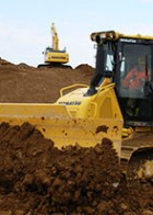 Komatsu introduces the new D39PXi-24 crawler dozer