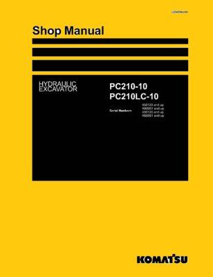 Komatsu PC210-10/ PC210LC-10 Hydraulic Excavator Workshop Repair Service Manual PDF Download