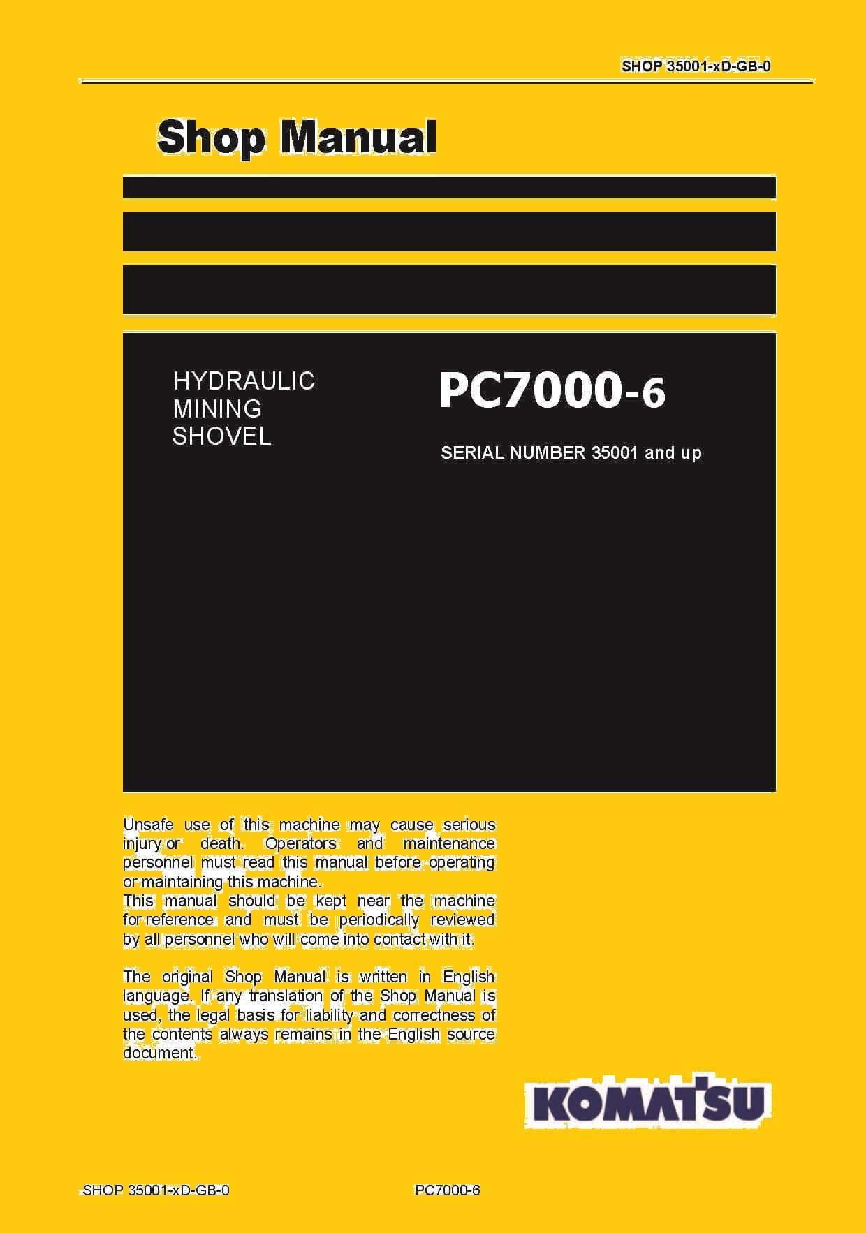 Komatsu Pc7000