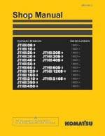 Komatsu JTHB series HYDRAULIC BREAKER JTHB08-3 to JTHB450-3 Workshop Repair Service Manual PDF Download