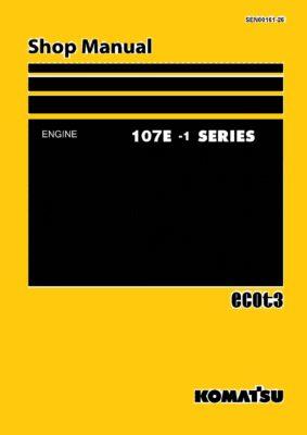 Komatsu DIESEL ENGINE 107E-1 SERIES Workshop Repair Service Manual PDF Download