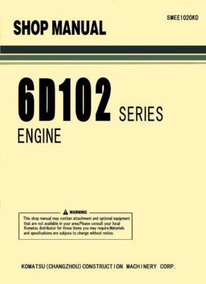 Komatsu DIESEL ENGINE 6D102 SERIES Workshop Repair Service Manual PDF Download