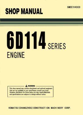 Komatsu DIESEL ENGINE 6D114 SERIES Workshop Repair Service Manual PDF Download