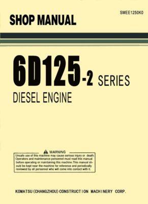 Komatsu DIESEL ENGINE 6D125-2 SERIES Workshop Repair Service Manual PDF Download