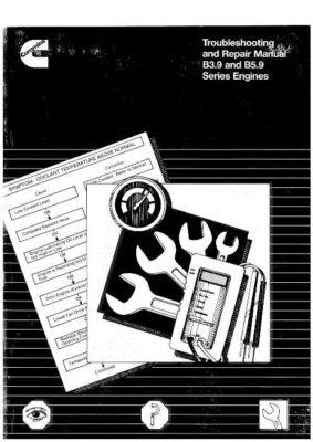 Komatsu Troubleshooting Repair Manual B3.9 and B5.9 series engine Workshop Repair Service Manual PDF Download