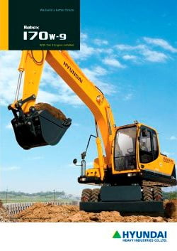Hyundai Technical Manual (Hydraulic Excavator R170W- 9)