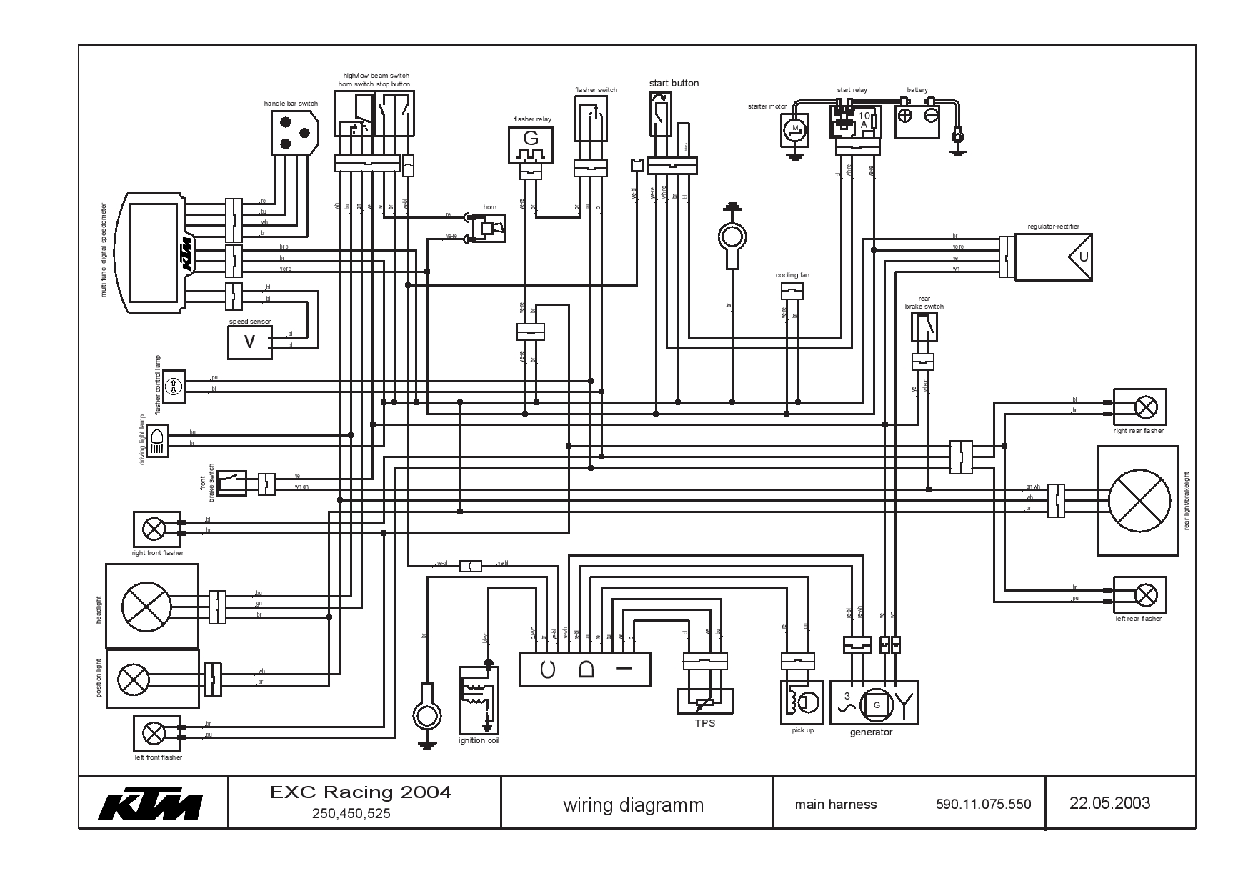 Ktm 525 Exc Wiring Diagram
