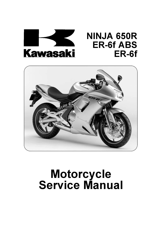 Kawasaki Er 6f Repair Manual Pdf Download