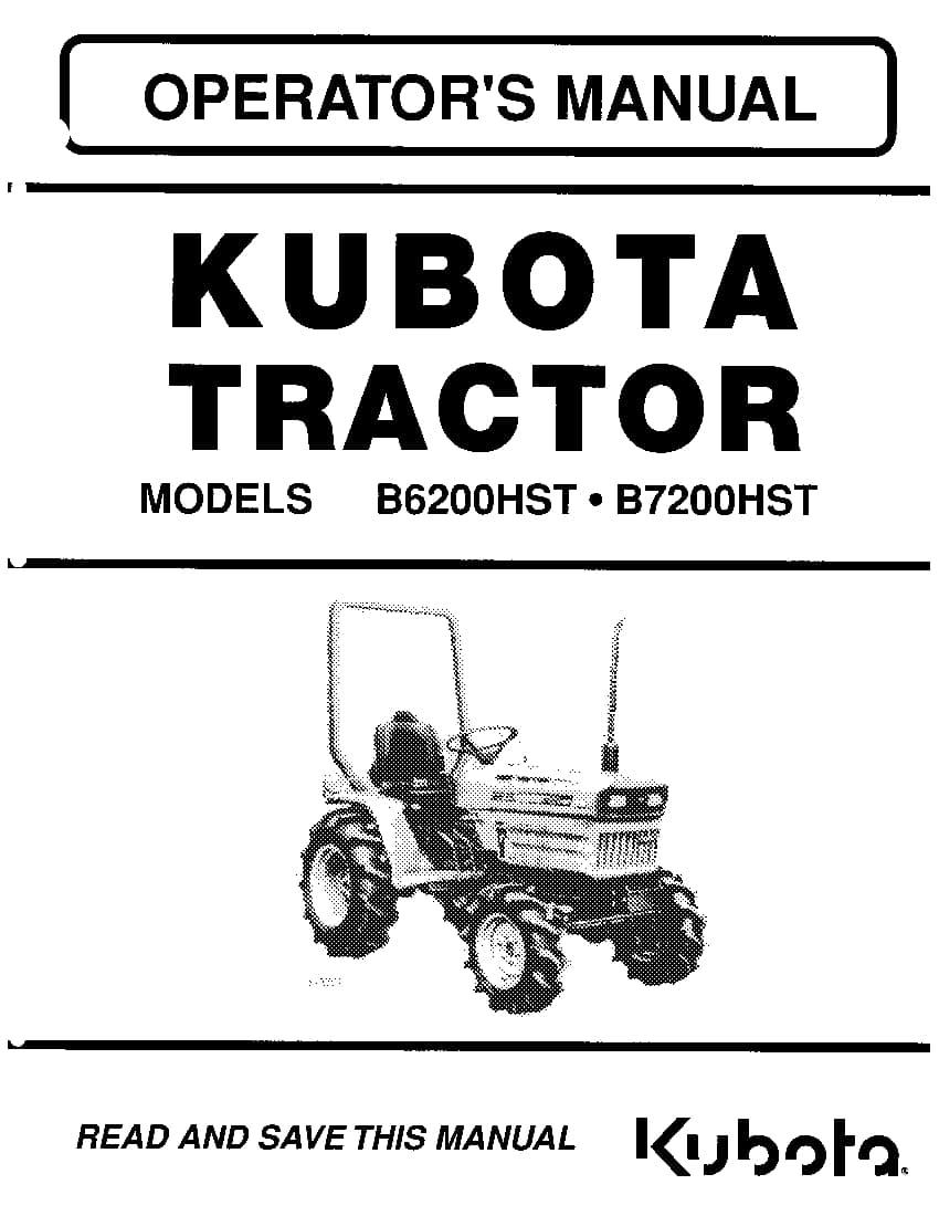 Kubota B7200 Pdf Service Manual Download Manual Guide