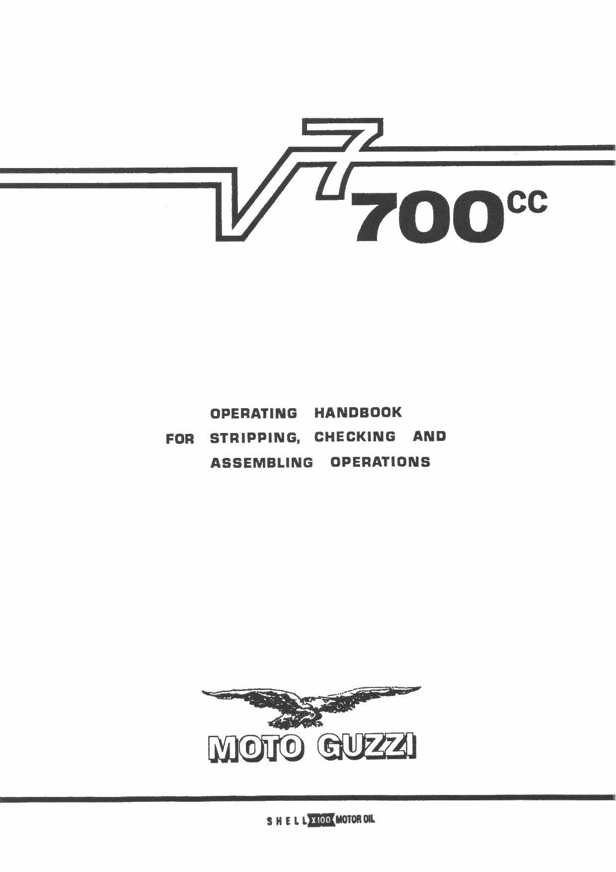 Moto Guzzi V7 700 Repair Manual Pdf Download