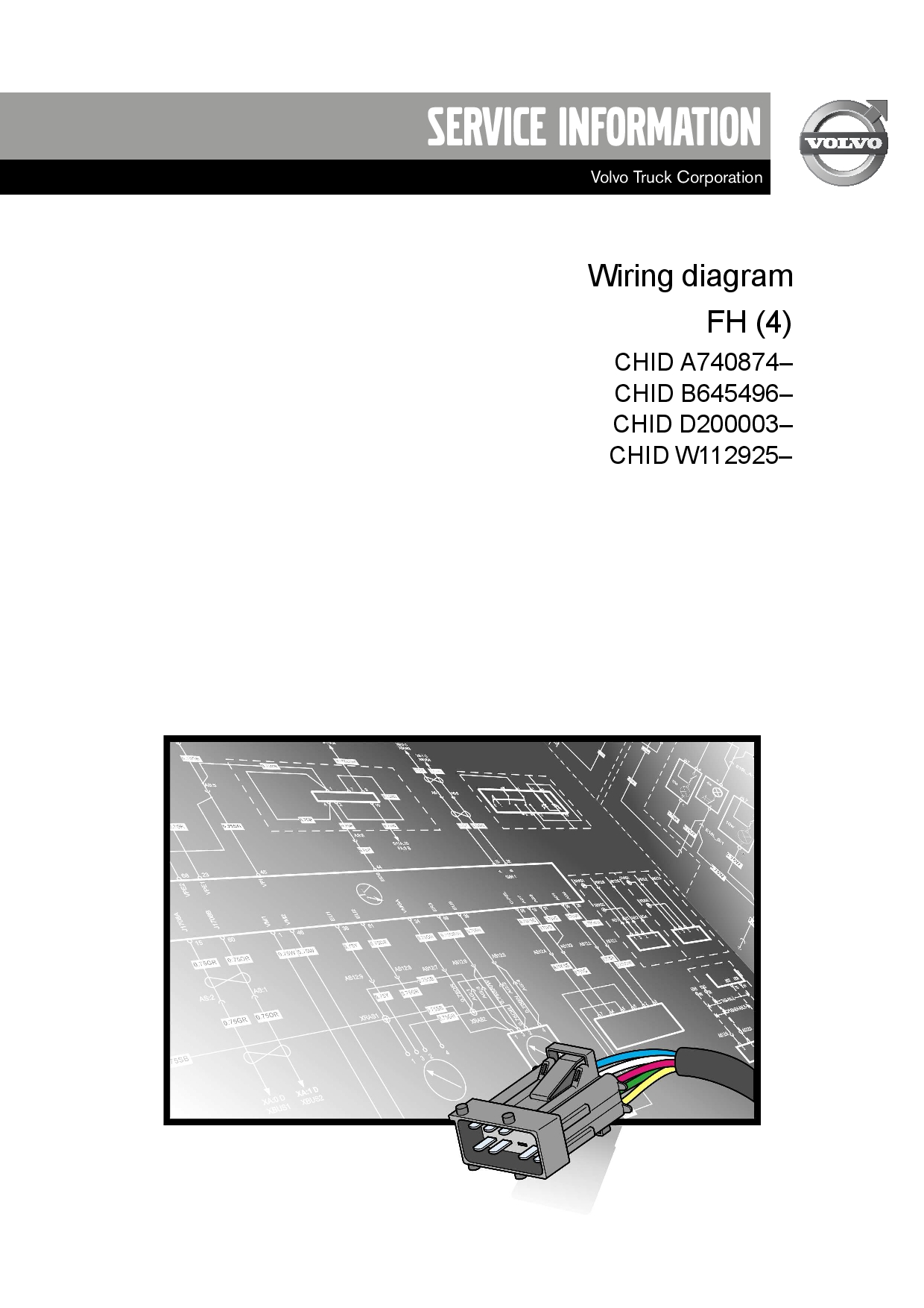 Volvo Truck Fh 4  April2014 Wiring Diagram Pdf Download - Service Manual