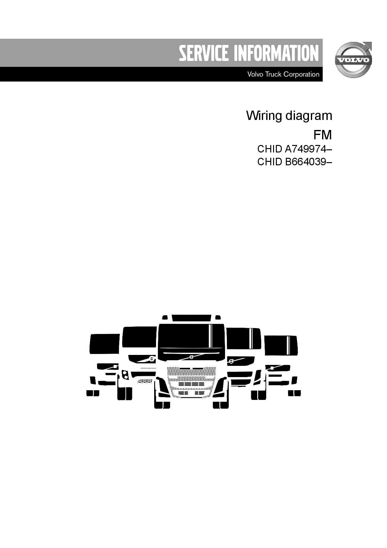 Volvo Truck Fm Pc04 July 2013 Wiring Diagram Pdf Download - Service Manual