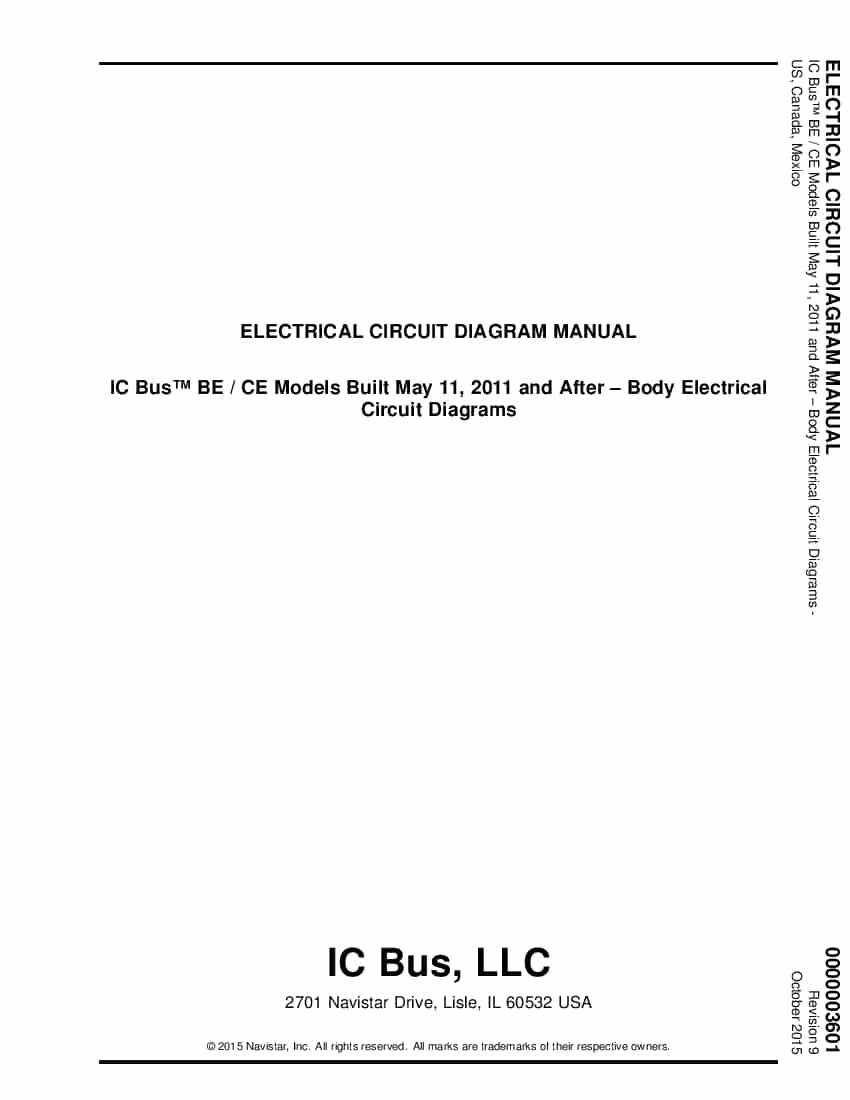 Navistar Ic Bus Be Radiator Cooling System Service Manual