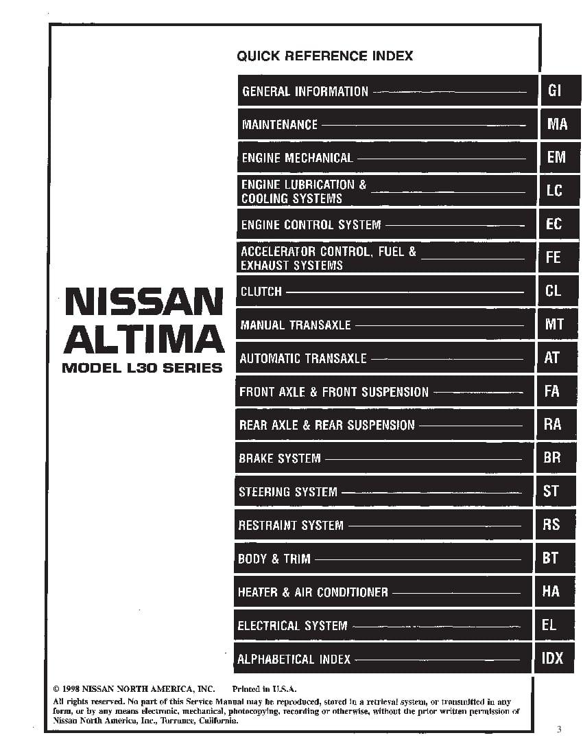 Nissan Altima 1994
