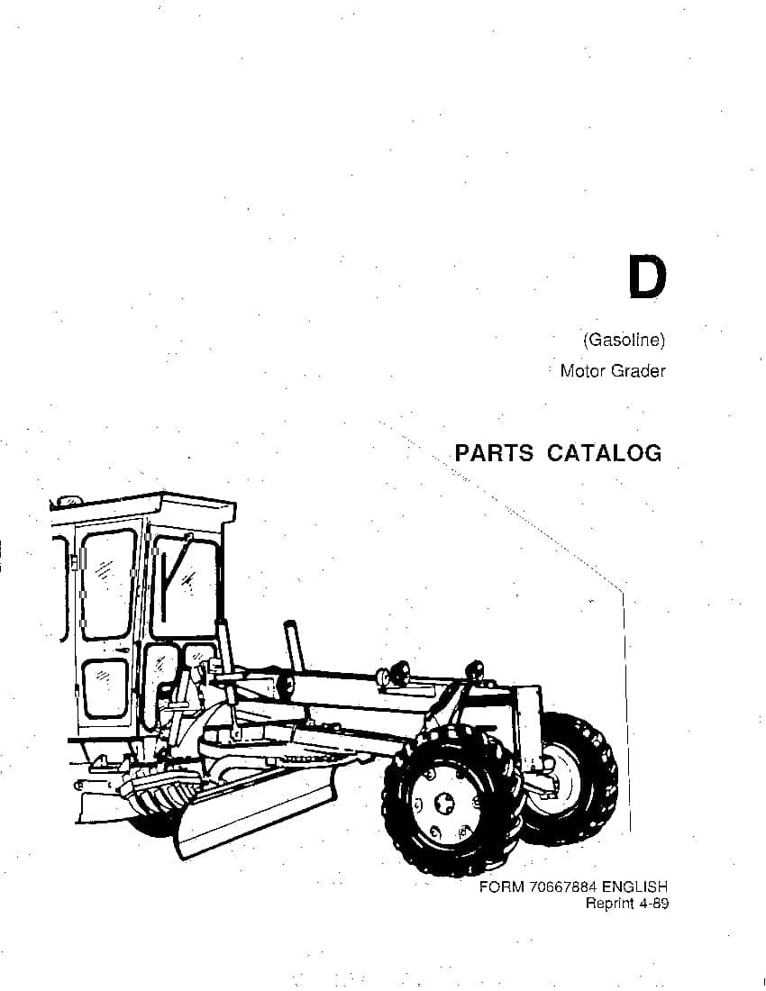 Allis Chalmers D Pm 70667884 Motor Grader Parts Manual Pdf