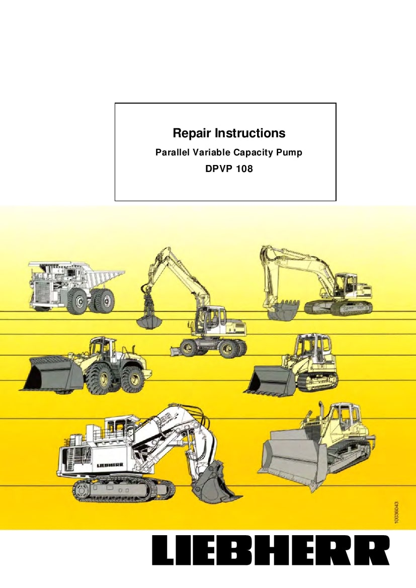 Bobcat Hydraulic Pump Service Repair Workshop Manual Manual Guide