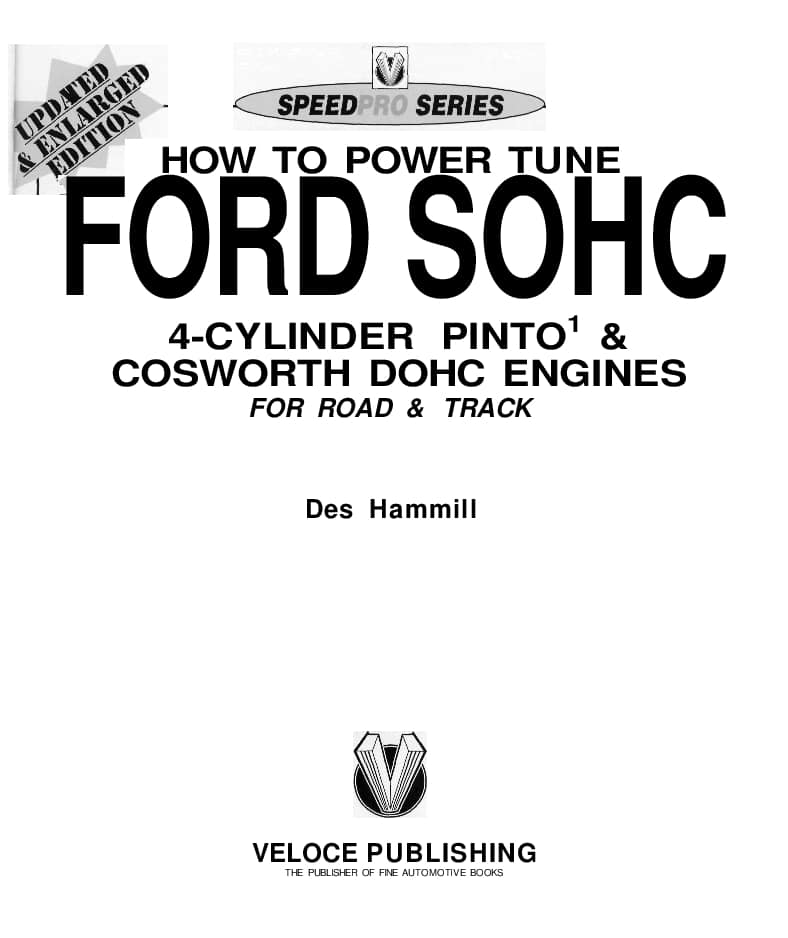 How To Power Tune Ford Sohc