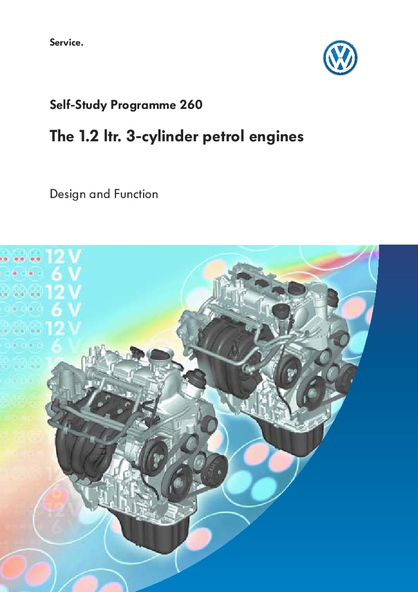 Ssp 260 1 2l 3 Cylinder Petrol Engines Pdf Download Service Manual Repair Manual Pdf Download