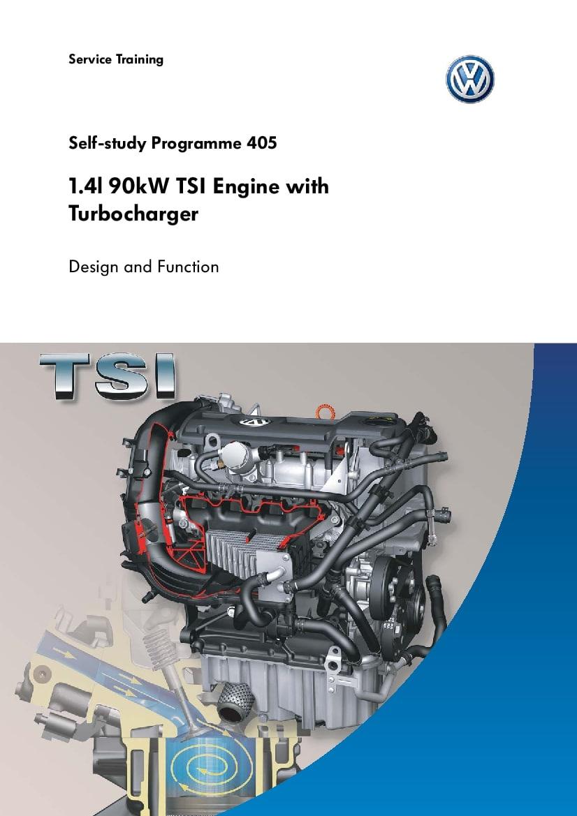 Ssp 405 1 4l 90kw Tsi Engine With Turbocharger Pdf