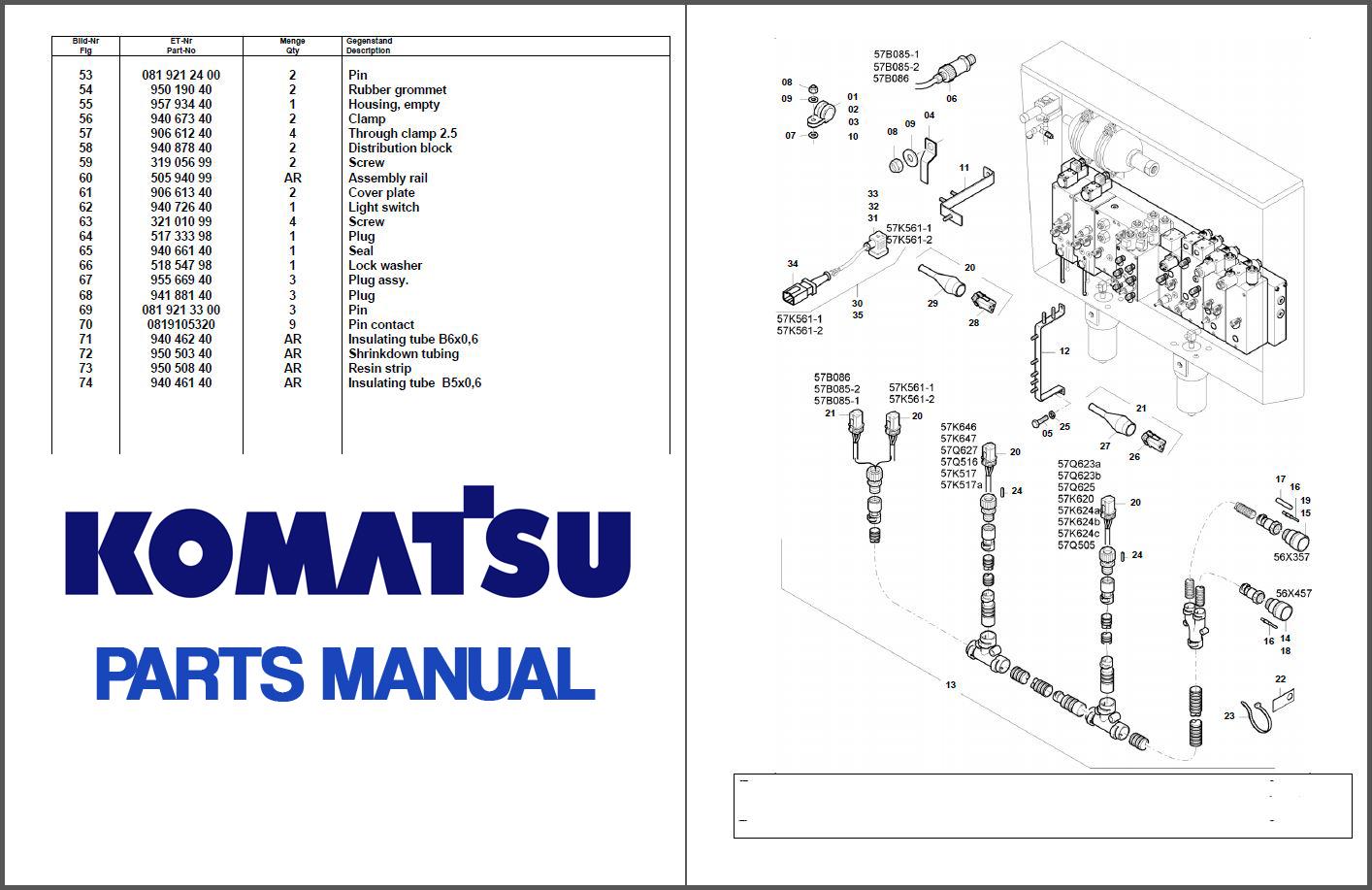 Komatsu D70le 12 Sn 60001 Up Parts Manual Bulldozer Download Service Manual Repair Manual Pdf Download