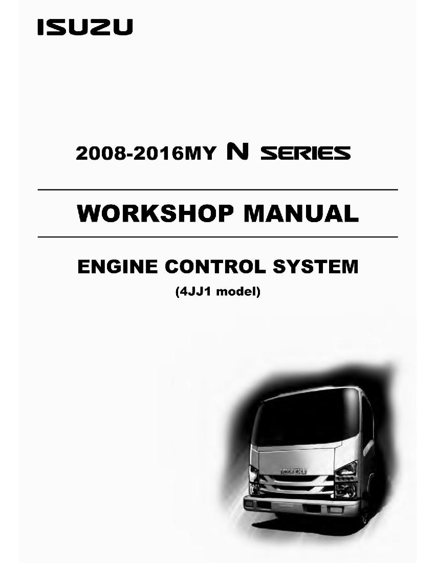 Engine Control System 4jj1 N