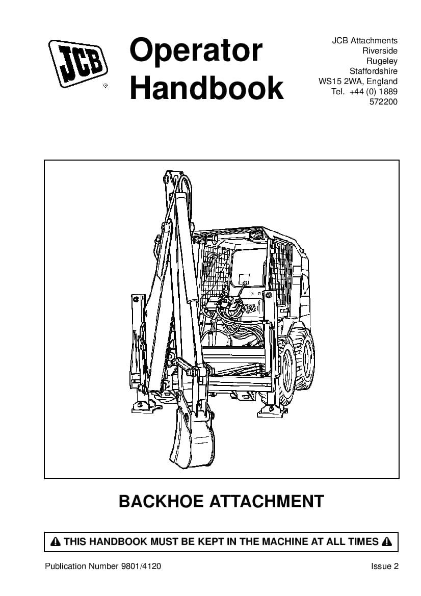 Jcb Operation Manual