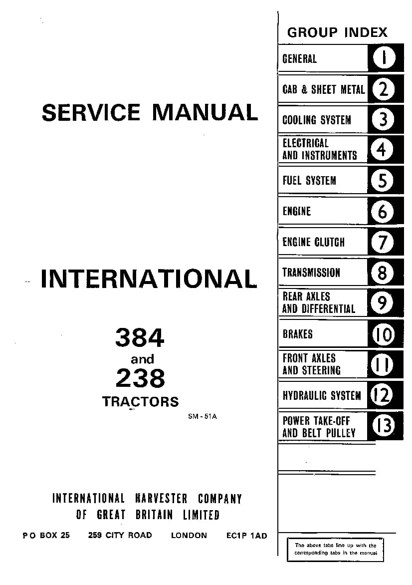 service manual for case 685